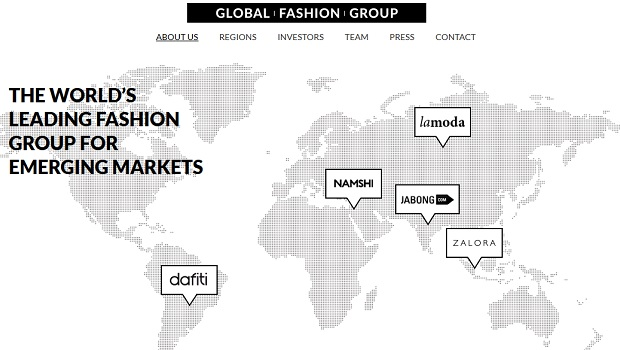 150 Millionen Euro für Rockets Global Fashion Group