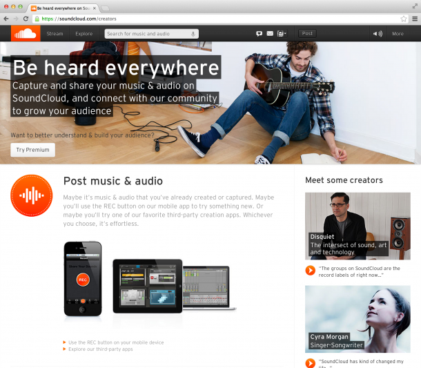 Soundcloud: Musikplattform in der Krise