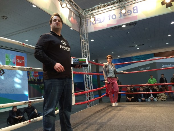 Founders Fight Club: Start-ups pitchen im Boxring