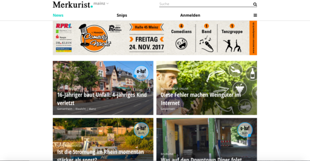 Merkurist: Frisches Geld für Journalismus-Start-up