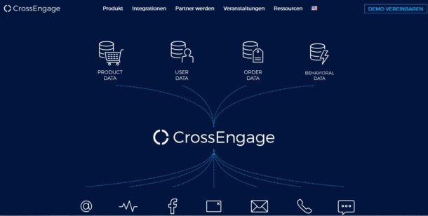 Crossengage: Fünf Millionen Euro für gezieltes Marketing