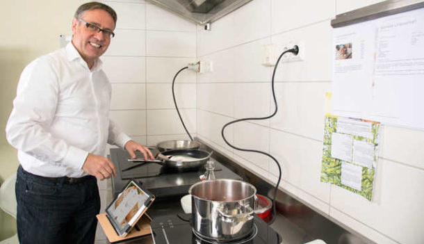 Cuciniale: Kochfeld-Start-up holt sich Zwilling an den Herd