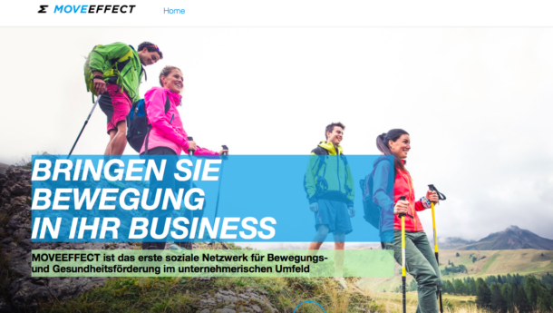Moveeffect: Finanzspritze für Motivationsplattform