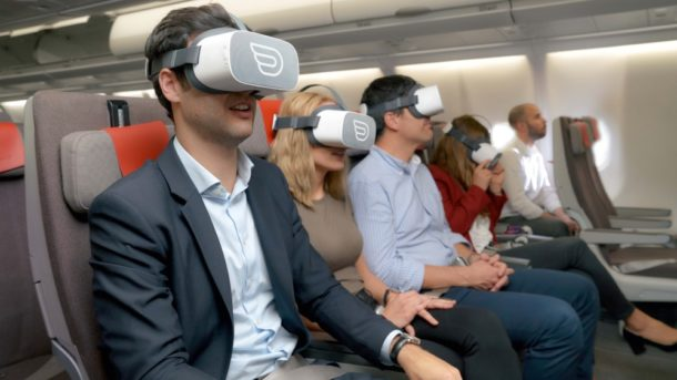 Inflight VR: Start-up bringt Virtual Reality in Flugzeuge